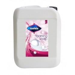 ISOLDA mydło różowe w pianie